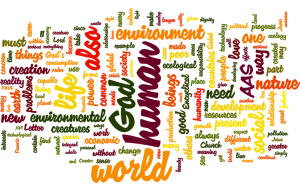 Laudato si wordle