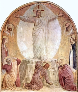 Fra Angelico, Transfiguration, 1438-1450, Convent of San Marco, Florence