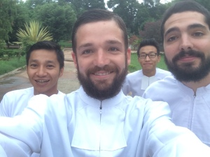 Myanmar White Robes