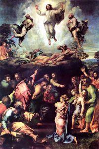 Raphael, Transfiguration, 1516-1520, Vatican City, Pinacoteca