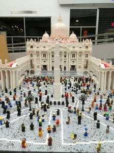 Lego Vatican Closeup