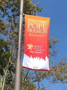 Papal Banner 2015