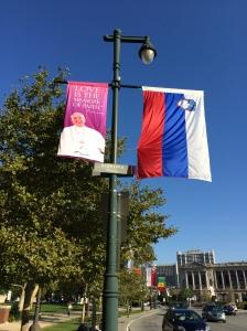 Papal Banner Slovenia