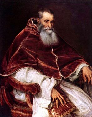 Titian Paul III Naples