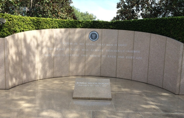 Reagan Grave site