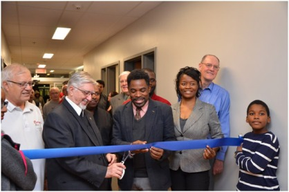 Saint Michel Ribbon Cutting