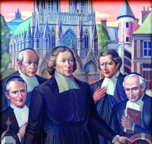 Manhattan College - Altarpiece Mural - DLS, etc.