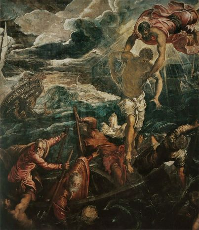 Tintoretto Saint Mark Saracen