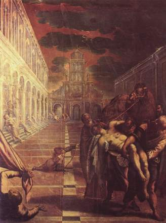 Tintoretto Saint Mark