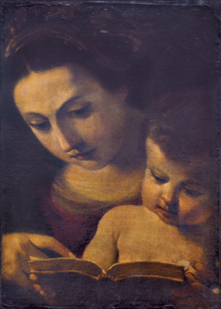 Guercino Mary & Jesus