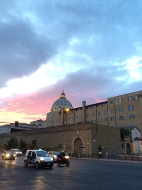Vatican Contrasts