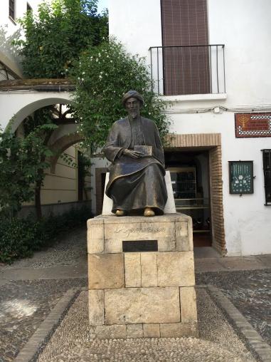 Maimonides Statue