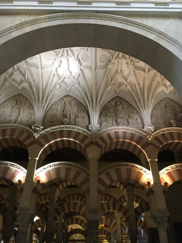 Muslim arches Christian vaulting