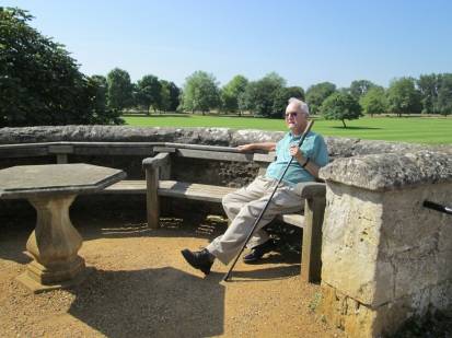 Tolkien Bench and Dominic