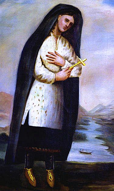 Kateri Chauchetiere 1696