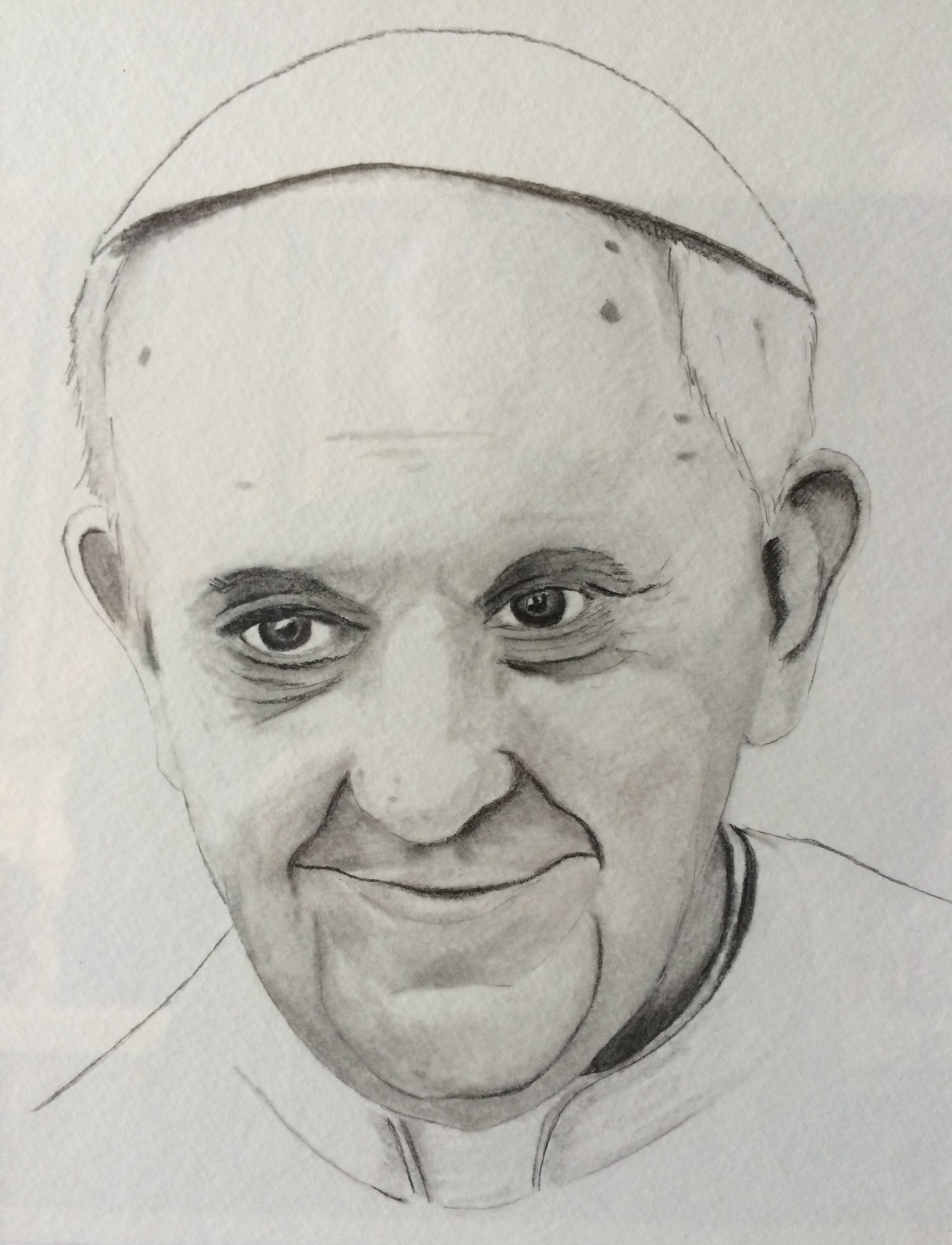 Pope Francis by Brother Patrick