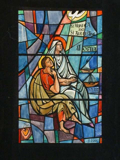 design-drawing-for-stained-glass-window-st-monica-and-st-augustine-at-ostia-5930e4